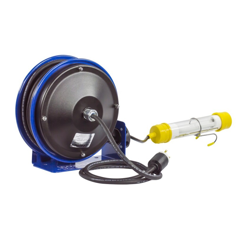 Coxreels PC10-3016-C Compact Spring Driven Cord Reel Fluor Tube Light 16GAx30ft (3)
