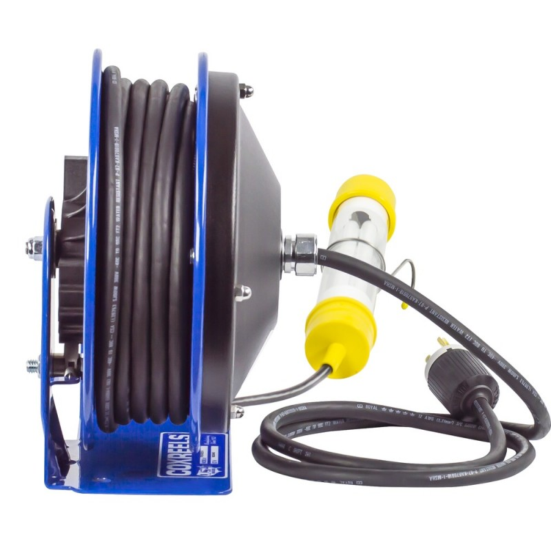 Coxreels PC10-3016-C Compact Spring Driven Cord Reel Fluor Tube Light 16GAx30ft (5)