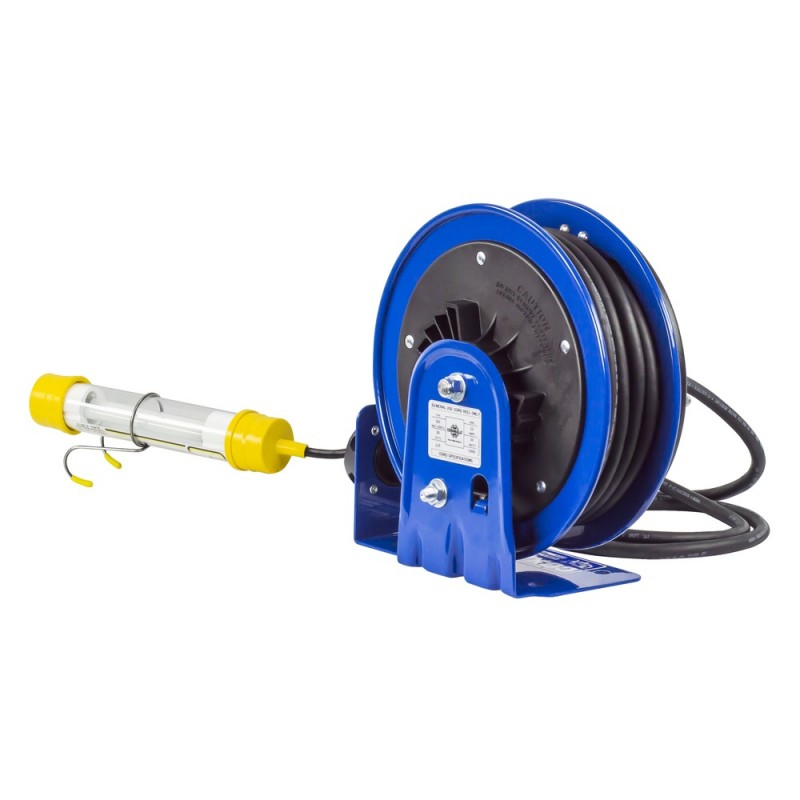 Coxreels PC10-3016-C Compact Spring Driven Cord Reel Fluor Tube Light 16GAx30ft (7)