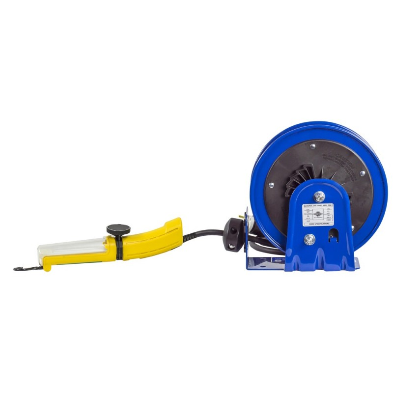 Coxreels PC10-3016-D Compact Spring Driven Cord Reel Fluor Angle Light 16GAx30ft (6)