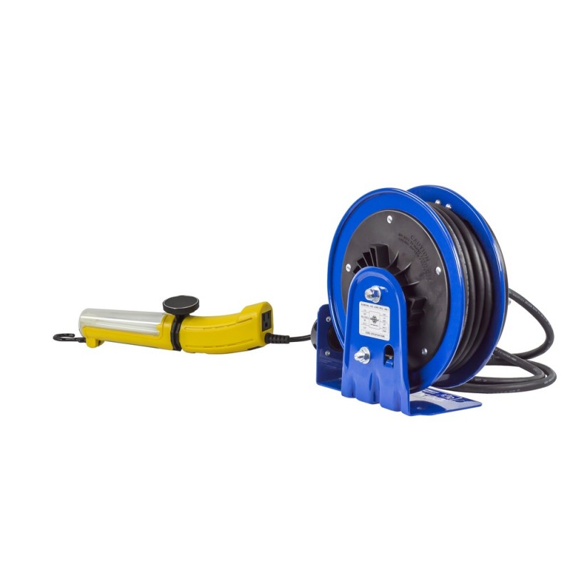 Coxreels PC10-3016-D Compact Spring Driven Cord Reel Fluor Angle Light 16GAx30ft (7)