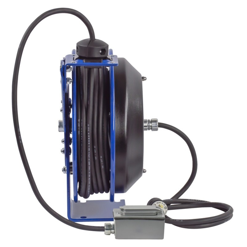 Coxreels PC13-5012-F Spring Driven Cord Reel Duplex Industrial Rec 12GAx50ft (1)