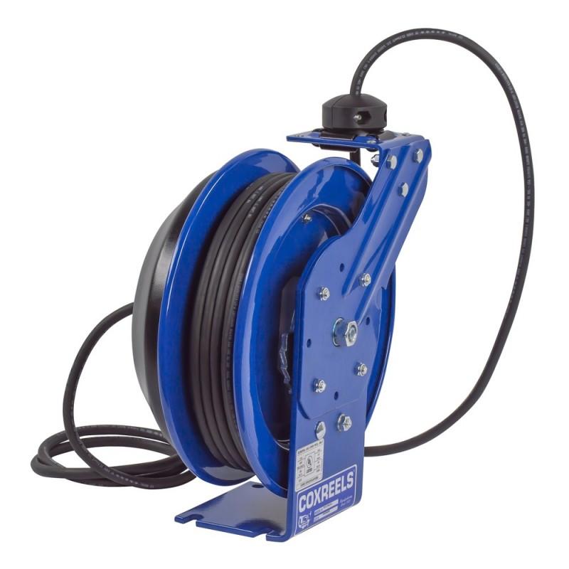 Coxreels PC13-5012-F Spring Driven Cord Reel Duplex Industrial Rec 12GAx50ft (3)