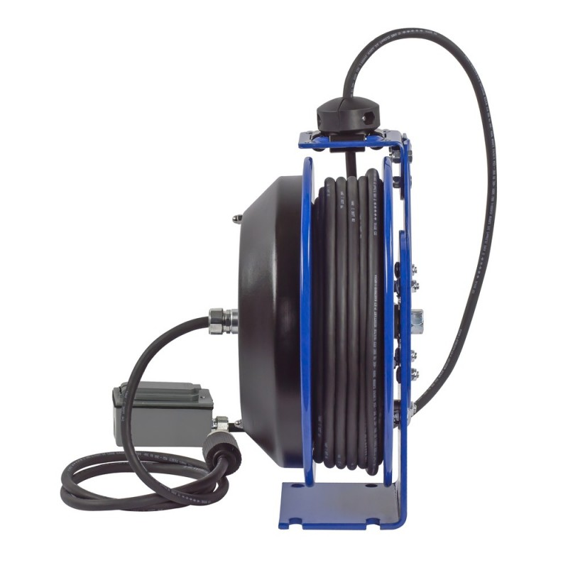 Coxreels PC13-5012-F Spring Driven Cord Reel Duplex Industrial Rec 12GAx50ft (5)