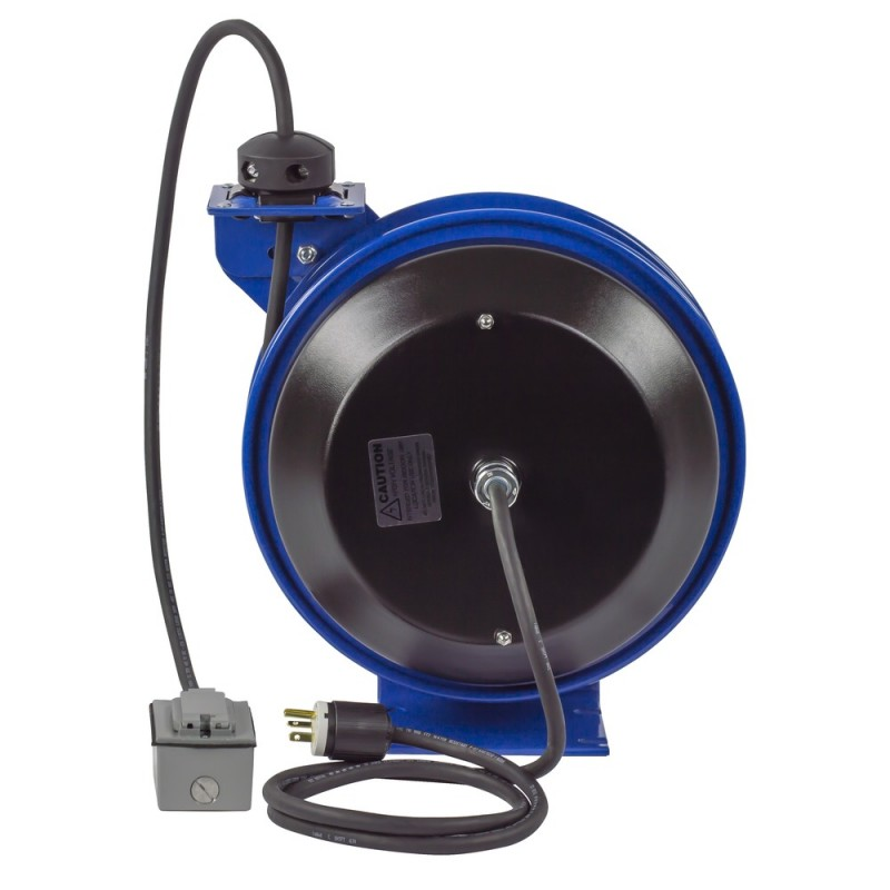 Coxreels PC13-5012-F Spring Driven Cord Reel Duplex Industrial Rec 12GAx50ft (6)