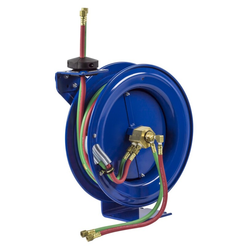 Coxreels P-WL-140 Spring Driven Welding Hose Reel 1/4inx40ft Oxy-acet no hose (4)