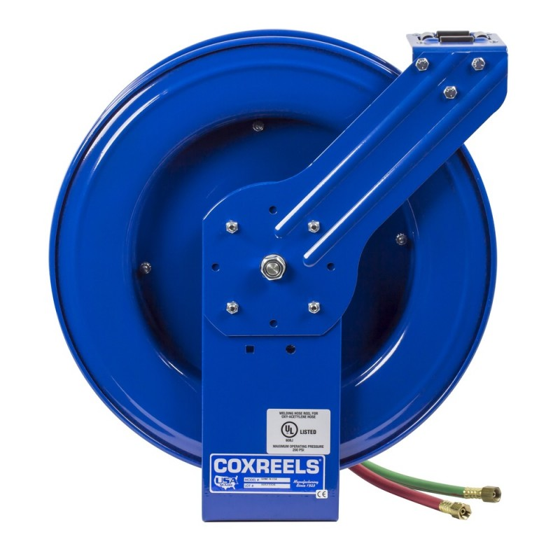 Coxreels EZ-SHWTL-1100 Safety System Welding Hose Reel 1/4inx100ft T-Grade (2)