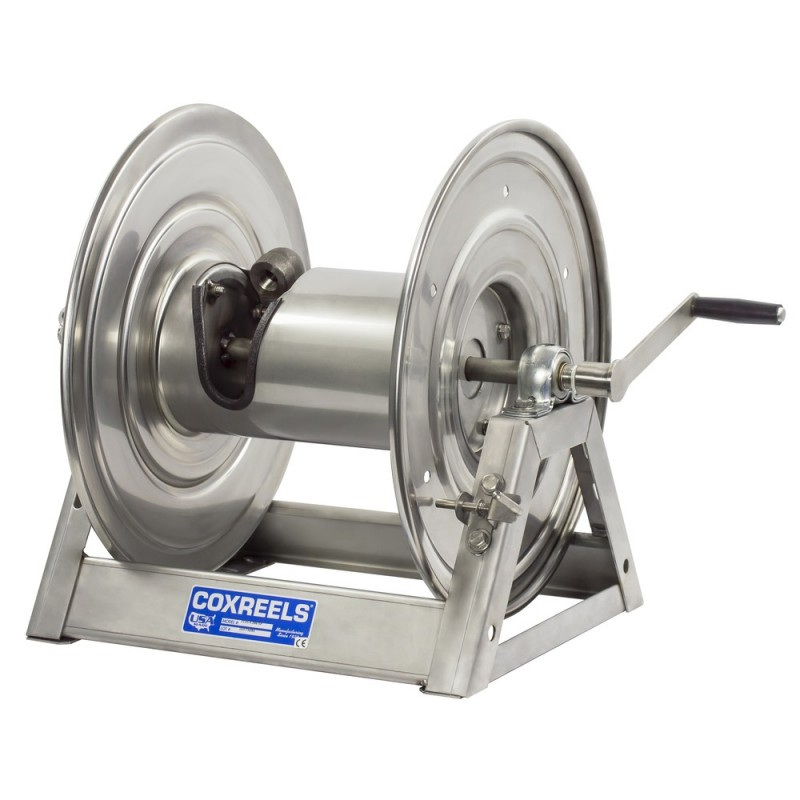 Coxreels 1125-5-200-SP Stainless Steel Hand Crank Hose Reel 3/4inx200ft no hose (5)