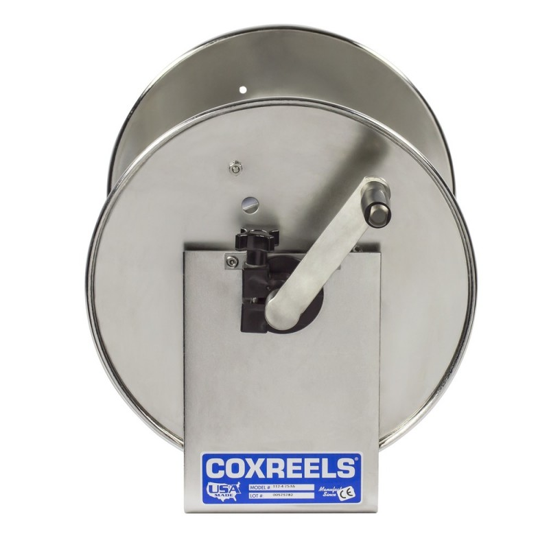 Coxreels 117-5-100-SS Stainless Steel Hand Crank Hose Reel 3/4inx100ft no hose (7)
