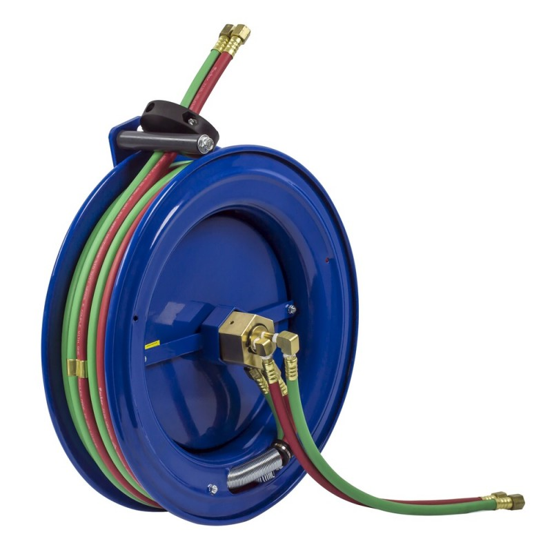 Coxreels SL17WTL-150 Side Mount Spring Driven Welding Hose Reel 1/4in T-Grade (4)