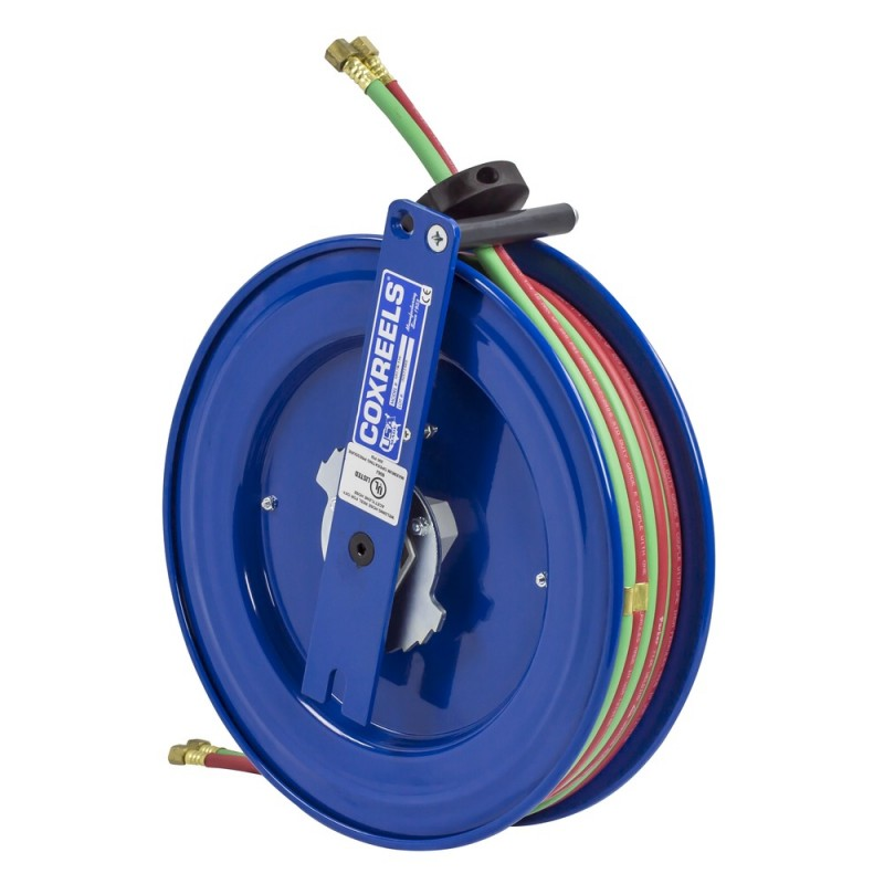 Coxreels SL17WTL-150 Side Mount Spring Driven Welding Hose Reel 1/4in T-Grade (7)