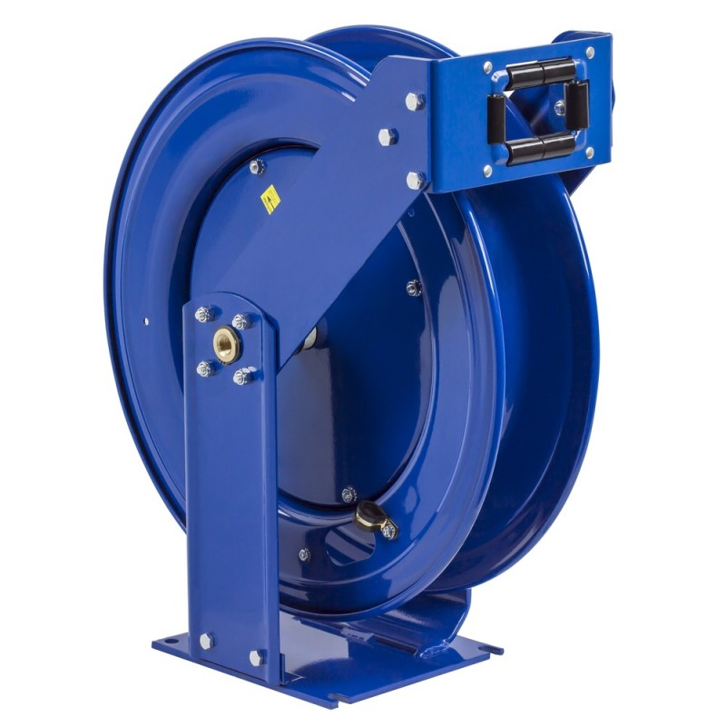 Coxreels EZ-THPL-350  Safety System Spring Driven Hose Reel 3/8inx50ft no hose (1)