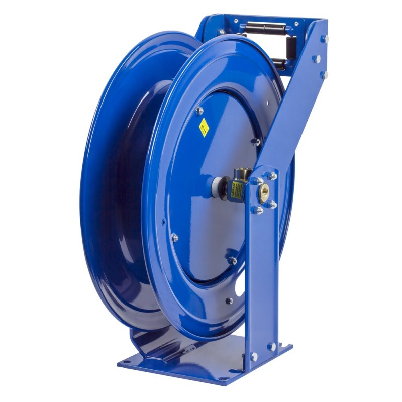 Coxreels EZ-THPL-350  Safety System Spring Driven Hose Reel 3/8inx50ft no hose (4)