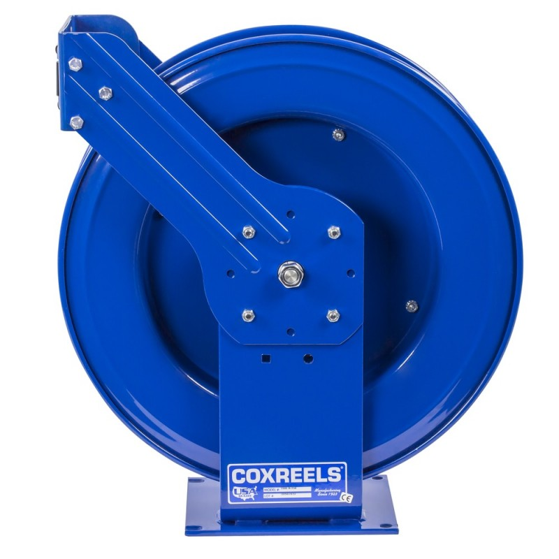 Coxreels EZ-THPL-350  Safety System Spring Driven Hose Reel 3/8inx50ft no hose (5)