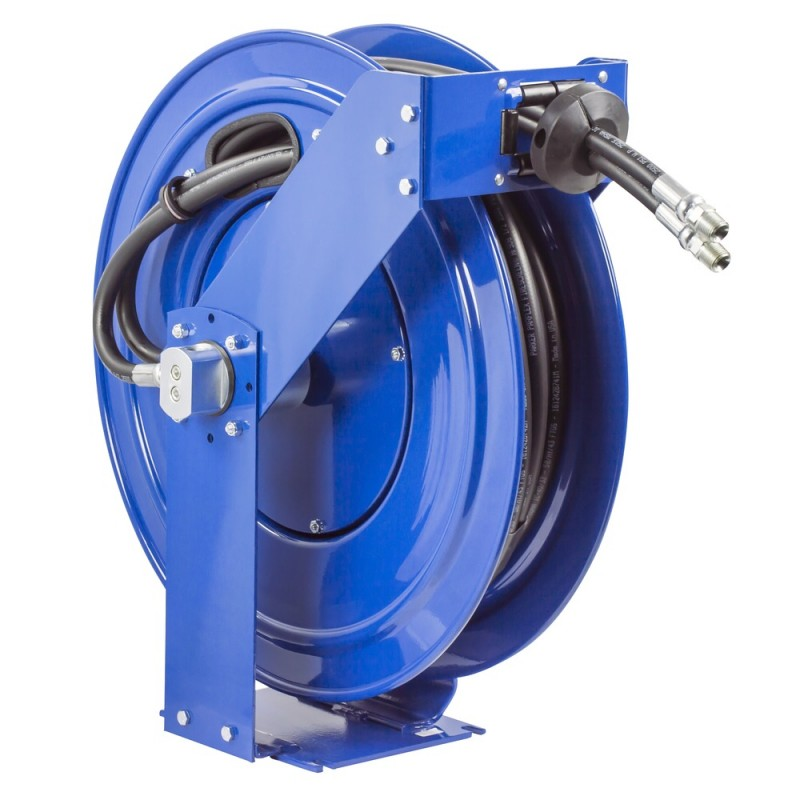 Coxreels TDMP-N-450 Dual Hydraulic Spring Driven Hose Reel 1/2inx50ft 2500PSI (1)