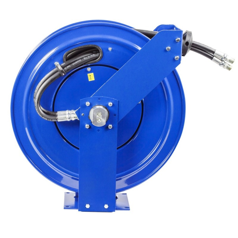 Coxreels TDMP-N-450 Dual Hydraulic Spring Driven Hose Reel 1/2inx50ft 2500PSI (3)