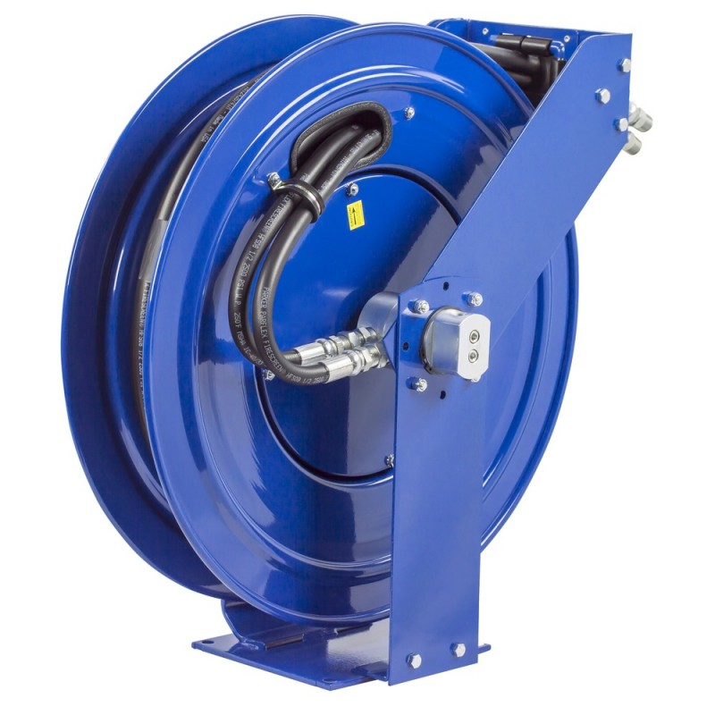 Coxreels TDMP-N-450 Dual Hydraulic Spring Driven Hose Reel 1/2inx50ft 2500PSI (4)