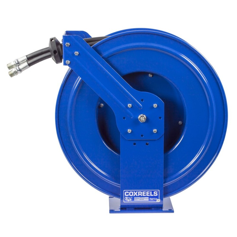 Coxreels TDMP-N-450 Dual Hydraulic Spring Driven Hose Reel 1/2inx50ft 2500PSI (6)