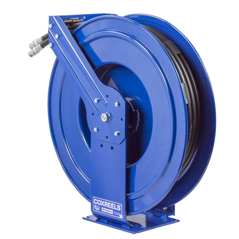 Coxreels TDMP-N-450 Dual Hydraulic Spring Driven Hose Reel 1/2inx50ft 2500PSI (7)