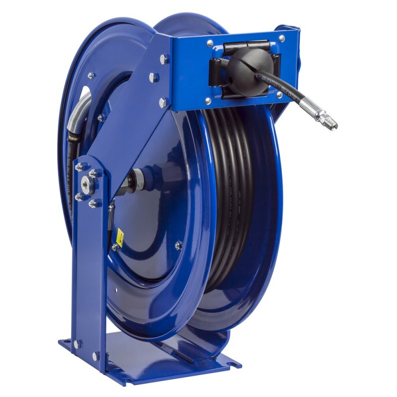 Coxreels THP-N-375 Supreme Duty Spring Driven Hose Reel  3/8inx75ft 4000PSI (1)
