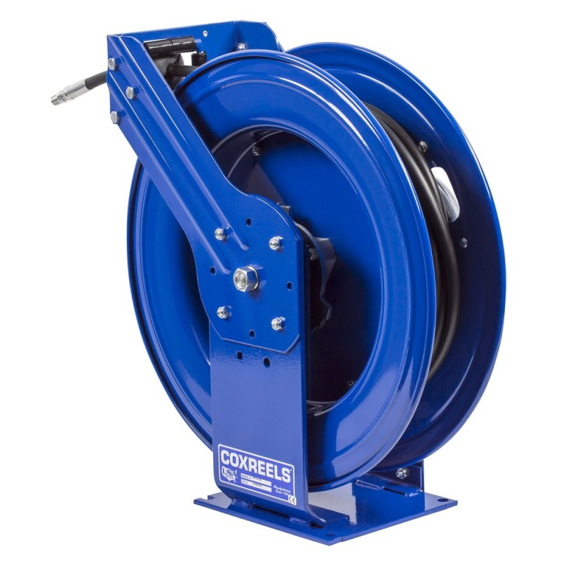 Coxreels THP-N-375 Supreme Duty Spring Driven Hose Reel  3/8inx75ft 4000PSI (7)