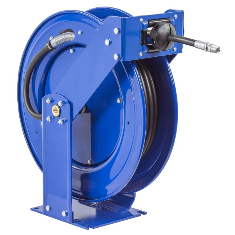 Coxreels TMP-N-450 Supreme Duty Spring Driven Hose Reel 1/2in 50ft 2500PSI (1)