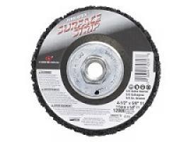 Premium Depressed Center Surface Strip Wheel w/Arbor
