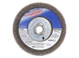 Premium Depressed Center Surface Finish Wheel w/Arbor