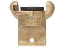 2 Lug Brass Blank Ends