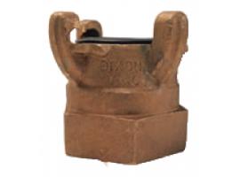 4 Lug Brass Female NPT Ends