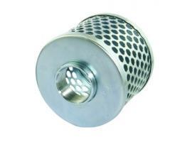 Round Hole Zinc Plated Steel Strainer