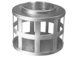 Square Hose Zinc Plated Steel Strainer