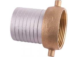 Plated Steel with Brass Nut