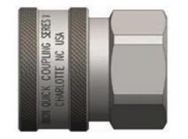 V-Series Couplings Unvalved Female Threads