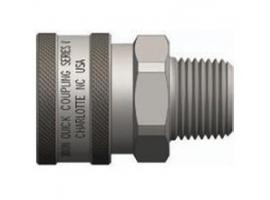 V-Series Couplings Unvalved Male ThreadsV-Series Couplings Unvalved Male Threads
