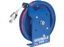 Self-Retracting Static Discharge Cable Reel