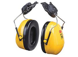 Cap-Mounted Ear Muffs